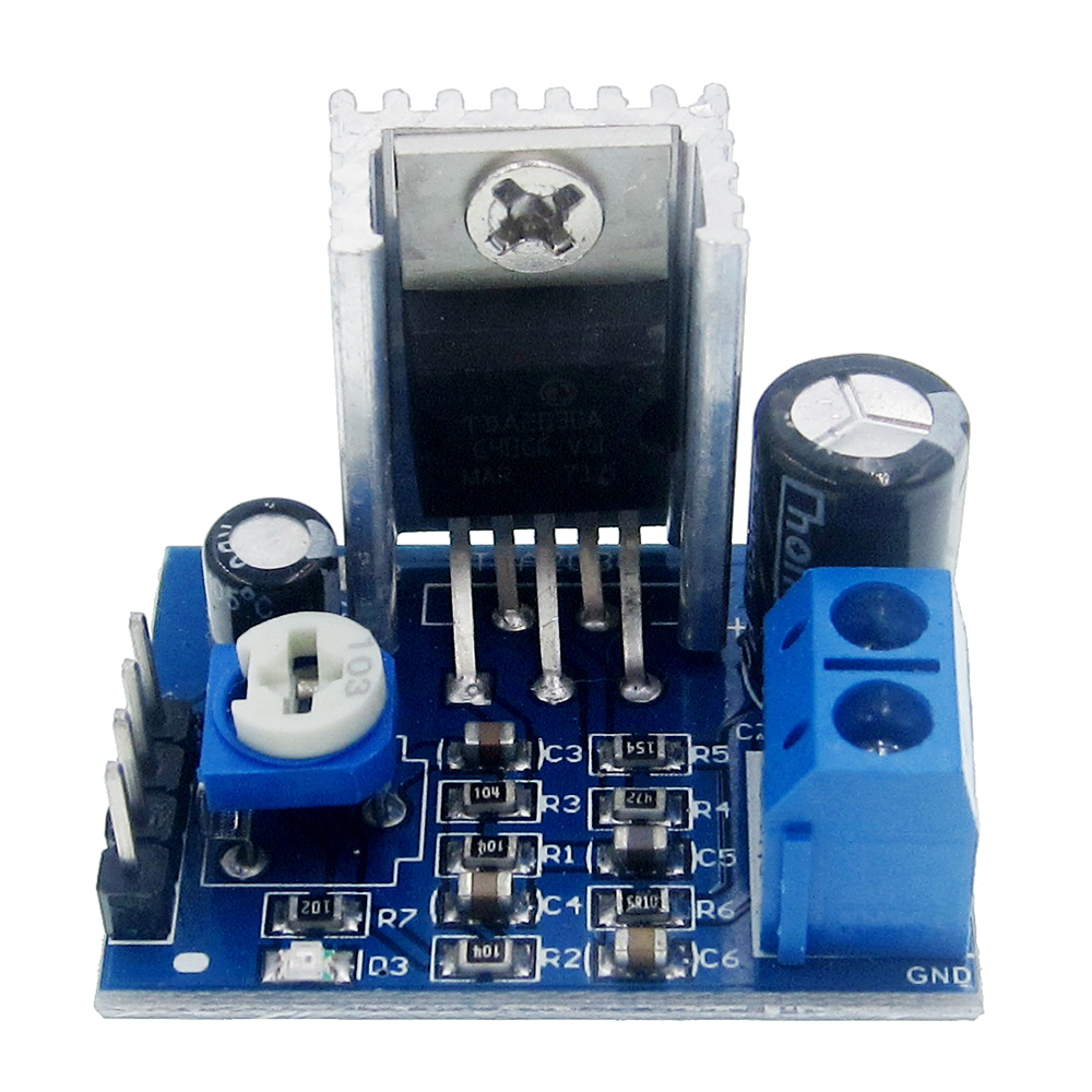 <font><b>TDA2030</b></font> Module Power Supply <font><b>TDA2030</b></font> Audio <font><b>Amplifier</b></font> Board Module TDA2030A 6-12V Single image