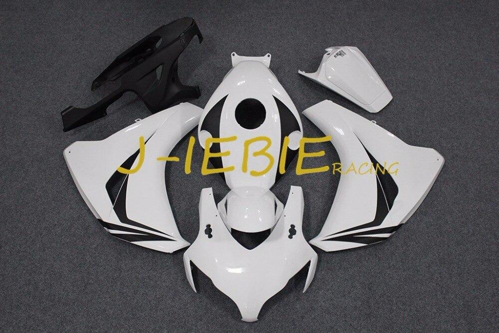 White Injection Fairing Body Work Frame Kit for HONDA CBR1000RR CBR 1000 CBR1000 RR 2008 2009 2010 2011