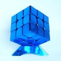 Дети интеллект Конструкторы Magic Cube Игрушка Головоломка стресс Металл Oyuncak квадратный скорость Labirinto обучения Образование игрушечные лошадк