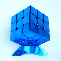Children Intelligence Blocks Magic Cube Toy Puzzle Stress Metal Oyuncak Square Speed Labirinto Learning Education Toys 60D0662