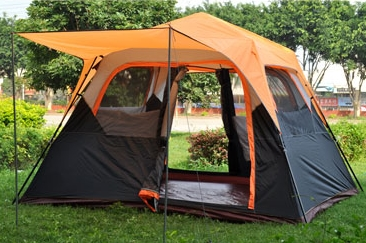 Large space 6 person one room instant set-up camping tent \outdoor tent,Wholesale in one person