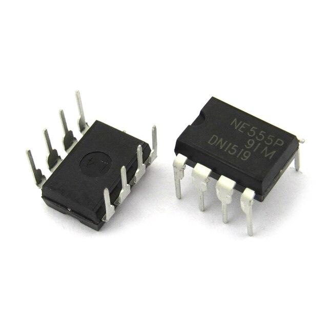 10pcs/lot New NE555 NE555P NE555N PRECISION TIMERS IC DIP-8 In Stock