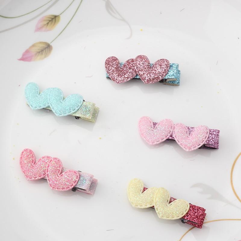 HTB177I8KFXXXXX.XpXXq6xXFXXXM Cute 2-Styles Shiny Stars/Hearts Girl Hair Clip - 5 Colors
