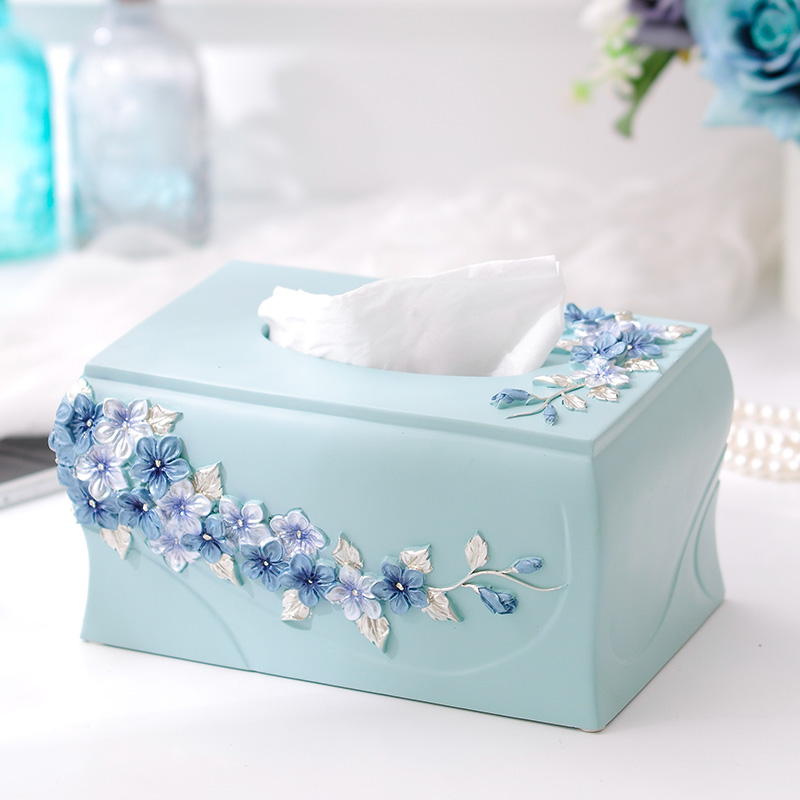 Happy Корейский сад цветок серии коробка бумажного полотенца салфетка коробка домашней обстановки Европейской декора