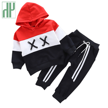 Spring Autumn kids Boys Clothing Sets Kids Boys Letter Children's Clothing Jacket + Pants 2 Pcs Toddler Girl Outfits 1 3 4 Years цена