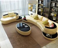 Кресло кожаный диван с кожаной