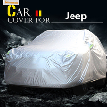 Buildreamen2 SUV Car Cover Sun Anti-UV Snow Rain Scratch Dust Protection Cover For Jeep Grand Cherokee Cherokee Compass Liberty