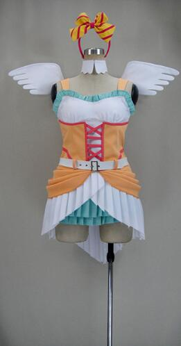anime love live 2 Koizumi Hanayo cosplay costume halloween costumes for women carnival party Performance Dress Custom made