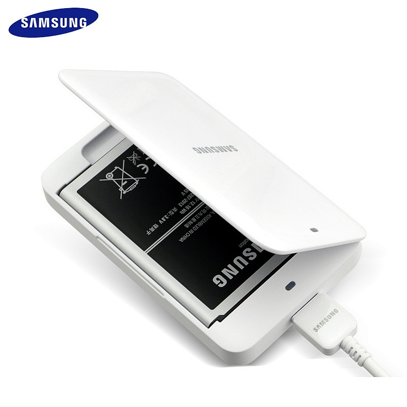 Original Samsung Galaxy Note 3 Battery Pack Charge Box, Battery Charger desktop for Galaxy Note3 Charging Kit, without battery