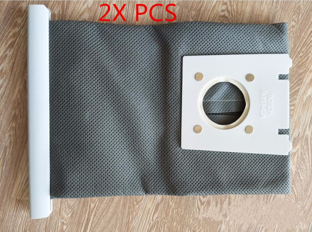 2pcs Wash Vacuum Cleaner G Type G Cloth Dust Bags Typ G For Bosch & SIEMENS BSG6 BSG7 BSGL3126GB GL30 ProEnergy Hoover B 5pcs lots vacuum cleaner g type cloth dust bags type g for bosch