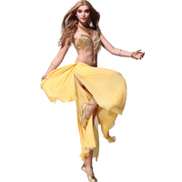 الرقص الشرقي ازياء الغجر تنورة لفترات محدودة البيع المباشر النساء كل رمز الرقص الشرقي زي مجموعة مزدوجة شنقا الأذن البرازيلي