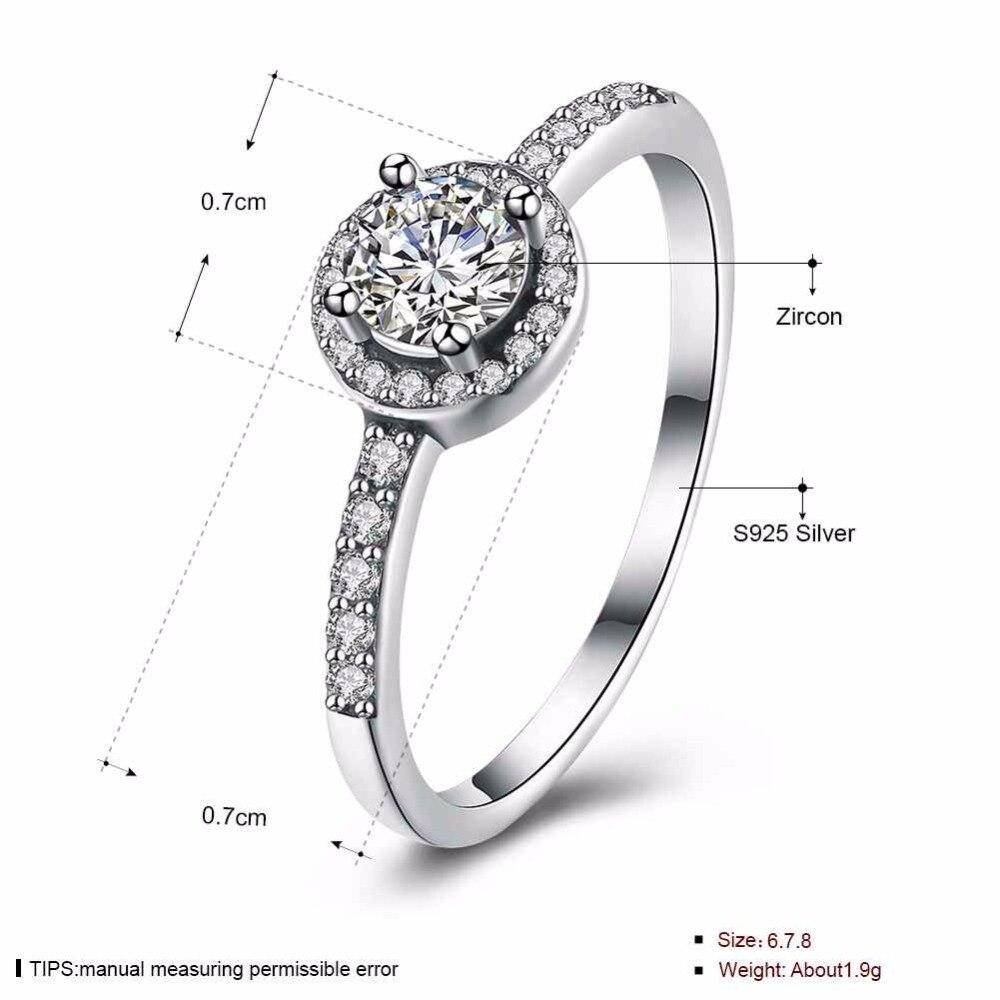 Verde стерлингового серебра 925 женский кольцо