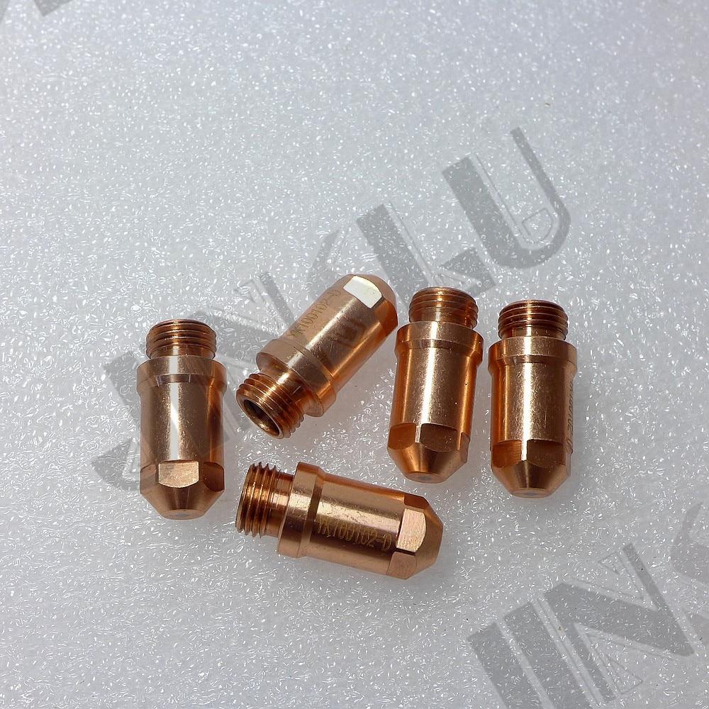 Electrode 100 Fit YGX-100 YK-100 YK 100A YGX 100101 Huayuan Plasma Cutting Torch LGK-100 LGK-120 YK100101-2-D