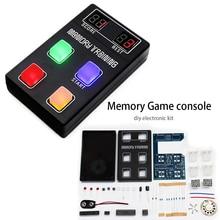 diy electronic kit set Funny memory game console LED e-learning training Competition production parts цена 2017