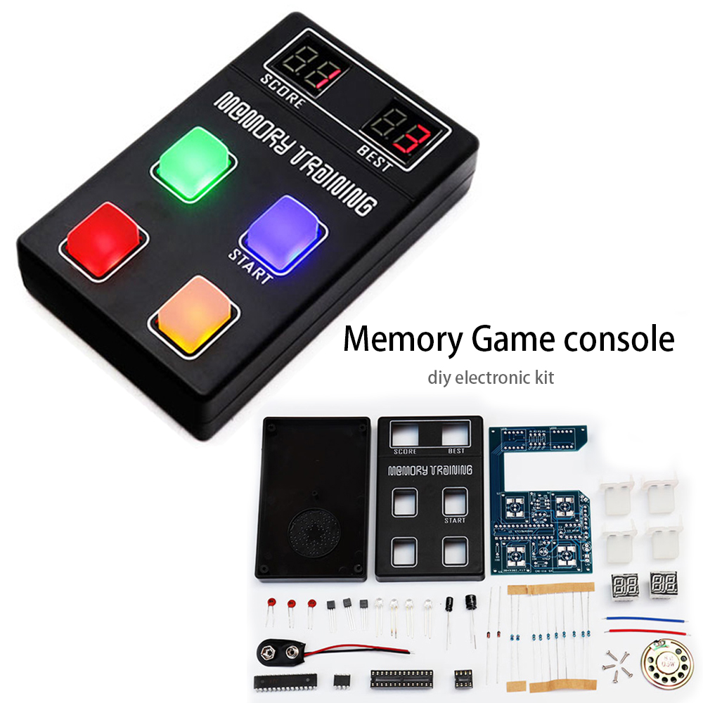 diy electronic kit set Funny memory game console LED e-learning training Competition production parts