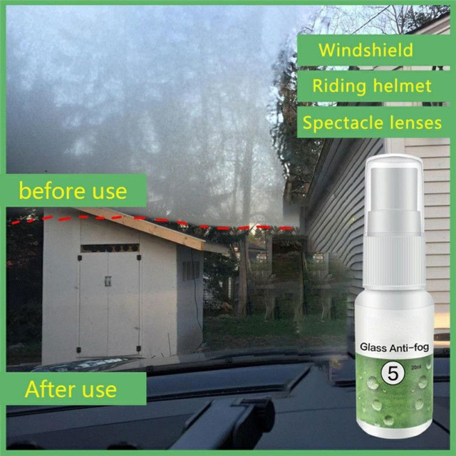 Super Hydrophobic Car Window Glass Anti-fog Agent Durable 2-3 Month Lasting Anti-rain Waterproof Auto Care Accessories TSLM1