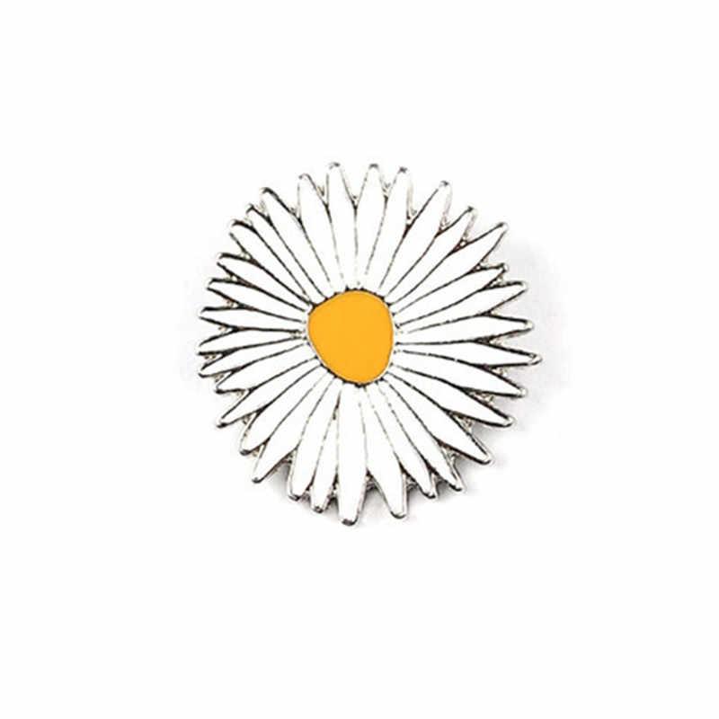 2017 Miễn Phí Vận Chuyển Thời Trang Phụ Nữ Mới Đồ Trang Sức Bee Dưa Hấu Hướng Dương Lady Hoa Cúc Drop Dầu Kim pins brooch bộ huy hiệu