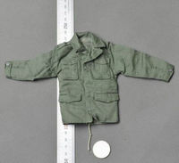 US Male Paratroopers Clothing 1/6 Dragon Green Shirt Jacket Clothing Model Toys For 12
