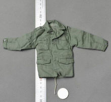 US Male Paratroopers Clothing 1/6 Dragon Green Shirt Jacket Clothing Model Toys For 12″ Action Figure Body Collections