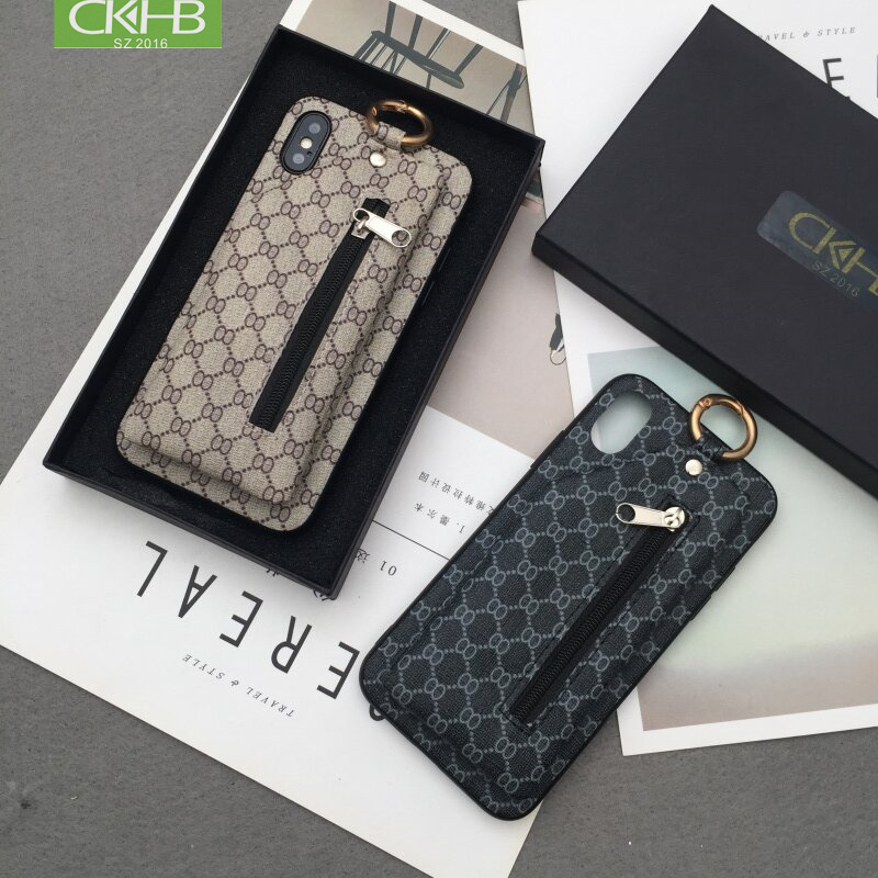 CKHB Back Cover Case For iPhone X Xs Max Case Retro Coin Wallet Phone Case Cover