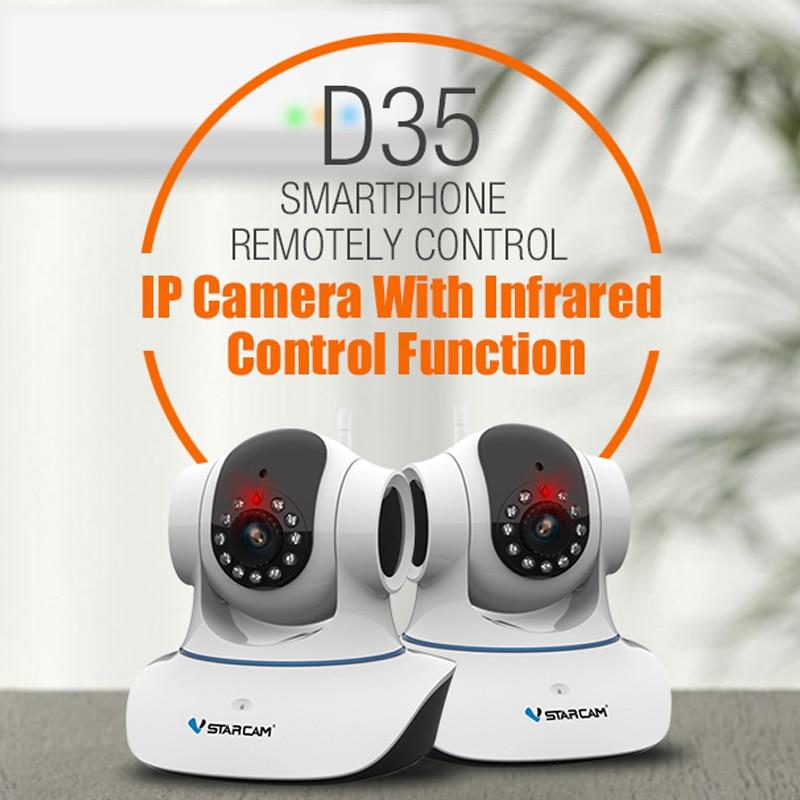 VStarcam D35 Direct Factory Infrared Control Function wireless IP Camera smart security camera Air conditioner гаджет vstarcam wf820
