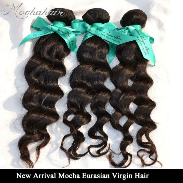 Aliexpress Buy Mocha Virgin Hair 3pcslot 12 26eurasian
