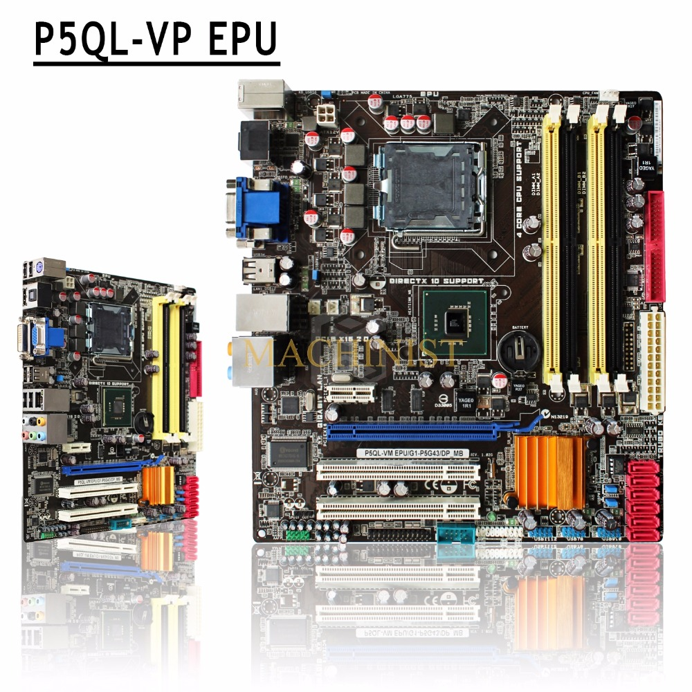 ASUS P5QL-VM EPU DRIVER FOR WINDOWS MAC
