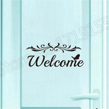 YOYOYU Welcome Door Wall Stickers Home Decoration Bedroom Mural Art Vinyl Removable Decal Interior Decor ZW129