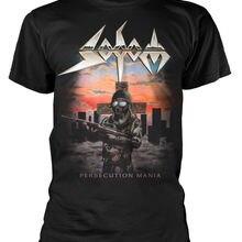 bd000d5e2 Sodom 'Persecution Mania' T-Shirt - NEW & OFFICIAL2019 summer new men cotton