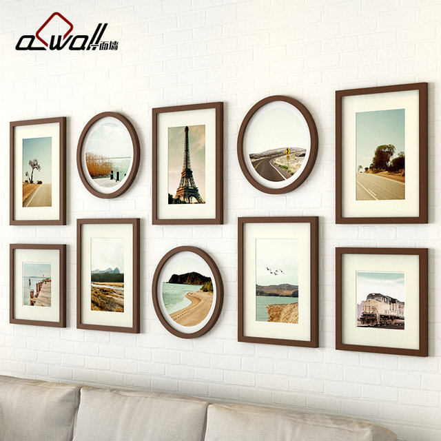 Online Shop Acrylic Photo Frame 10 Pieces/Set Vintage Picture Frames ...