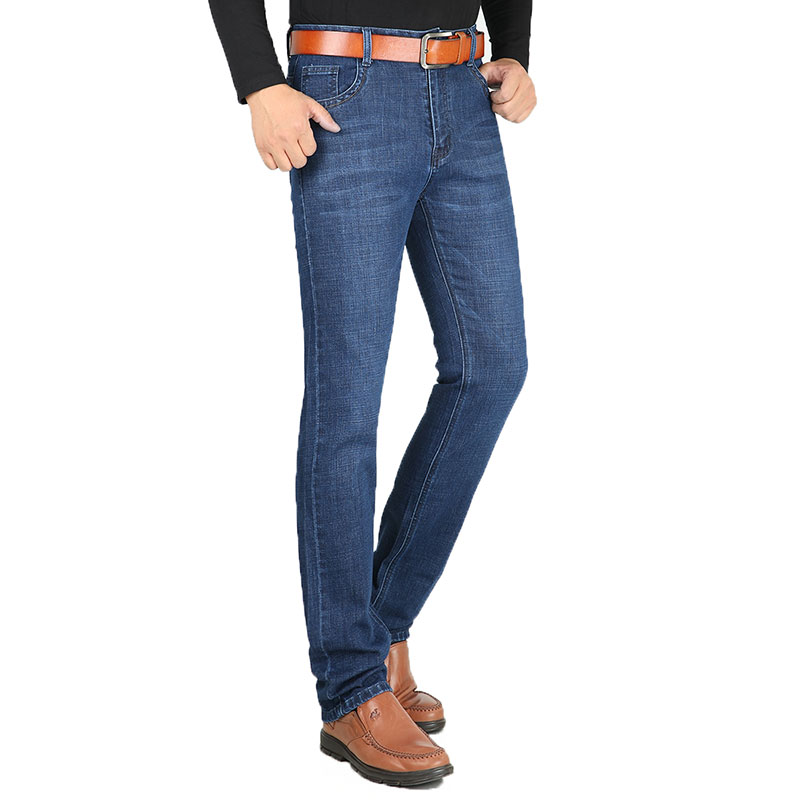 New Arrival Famous Brand Jeans For Men Cheap Jeans Straigh Regular Fit Denim Jeans Pants Classic Blue Colour Size 30-40 HLX147 all seasons famous brand jeans men straight denim classic blue jeans pants regular fit high quality plus size 28 to 40 sulee