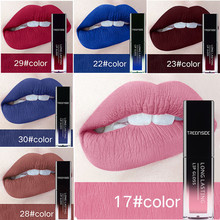 28 color liquid matte lipstick waterproof lasting makeup lip gloss red purple blue black matte nude lipstick make up nyx professional makeup matte lipstick 31 цвет 31 daydream variant hex name c9664a