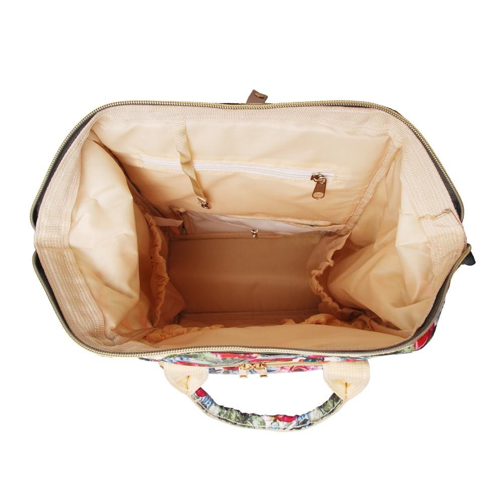 Bagaj ve Çantalar'ten Sırt Çantaları'de 2 adet Kaktüs Çiçek bebek Bezi Çantası Bebek Hırka Bakım Nappy Çantası Büyük Kapasiteli Sırt Çantası Seyahat Çantası Ücretsiz Kargo DOM1276'da  Grup 2