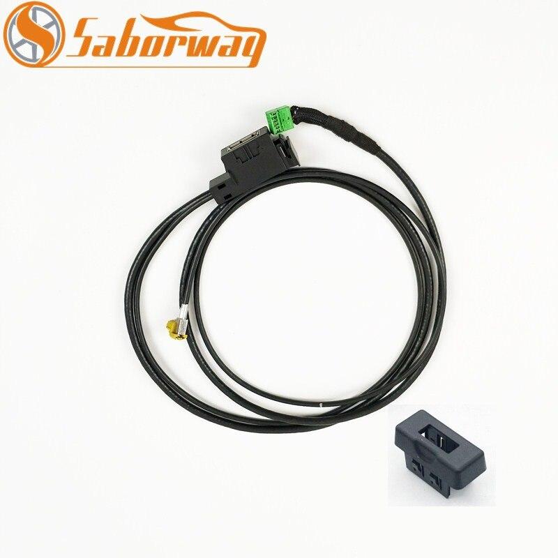 Саборвей USB AMI музыкальный интерфейс жгут аудио кабель 3G кабельный жгут для A4 A5 A6 2010 Q5 Q7 4F0 035 727 4F0035727