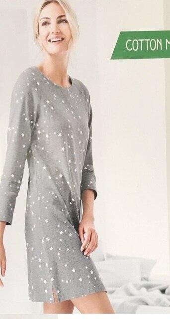 Бесплатная доставка. зимняя брендовая новая женская одежда для сна, теплая  Домашняя одежда из хлопка 5531d8b90a6