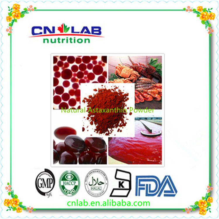 China Direct Manufacture for pure astaxanthin powder 2% 50g 10 natural astaxanthin from