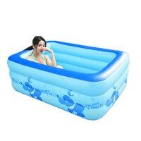 Shampooer Портативный Banho стопы бенуар податливым бассейн сауна горячая ванна Banheira Inflavel надувная Ванна