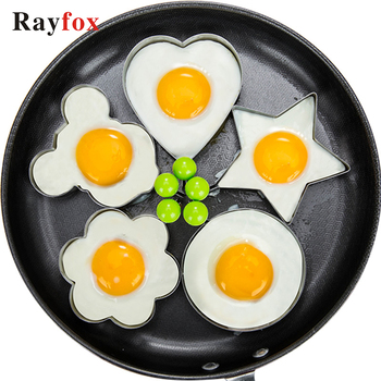 5 Style Stainless Steel Fried Egg Shaper