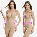 Размер L-XXL сексуальные худые женщины шейперы боди женский abdomial давления чашки бедра сиамские тело скульптуры бесшовные похудения белье