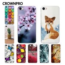 CROWNPRO Soft Silicone Meizu U10 Case Cover TPU Colored Painting Fashion Phone Back Protective Case FOR Meizu U10 U 10 Phone