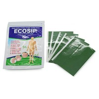 50Pcs 10bag ECOSIP Treatment Osteoarthritis Bone Hyperplasia Omarthritis Rheumatalgia Spondylosis Paste Pain Relieving Patch