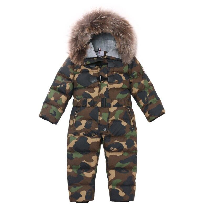 Vêtements de ski d'hiver pour enfants imperméable et coupe-vent manteau de brochet fille costume doudoune, manteau de neige garçon bébé combinaison manteau