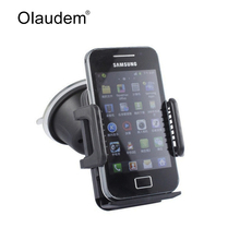 Car Phone Holder for iPhone 6 7 Samsung Windshield Mount Car Holder 360 Degree Rotatable Mobile Phone Car Phone Stand 258
