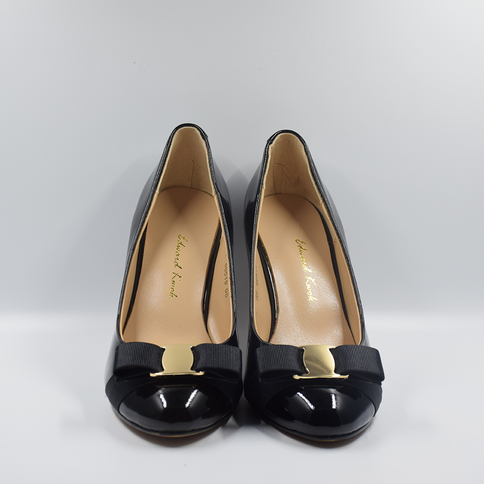 Women Shoes High Heel Genuine Leather Wedding Shoes Pumps Bow Heels DA007-in  Women s Pumps from Shoes on Aliexpress.com  7f1018ca485a
