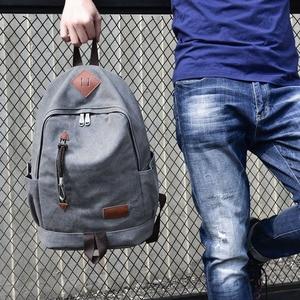 Image 5 - Big Canvas Backpack Man High Quality Large Leisure Multifunction Back Pack Men Bagpack Laptop 2019 New School Bag Backbag Male