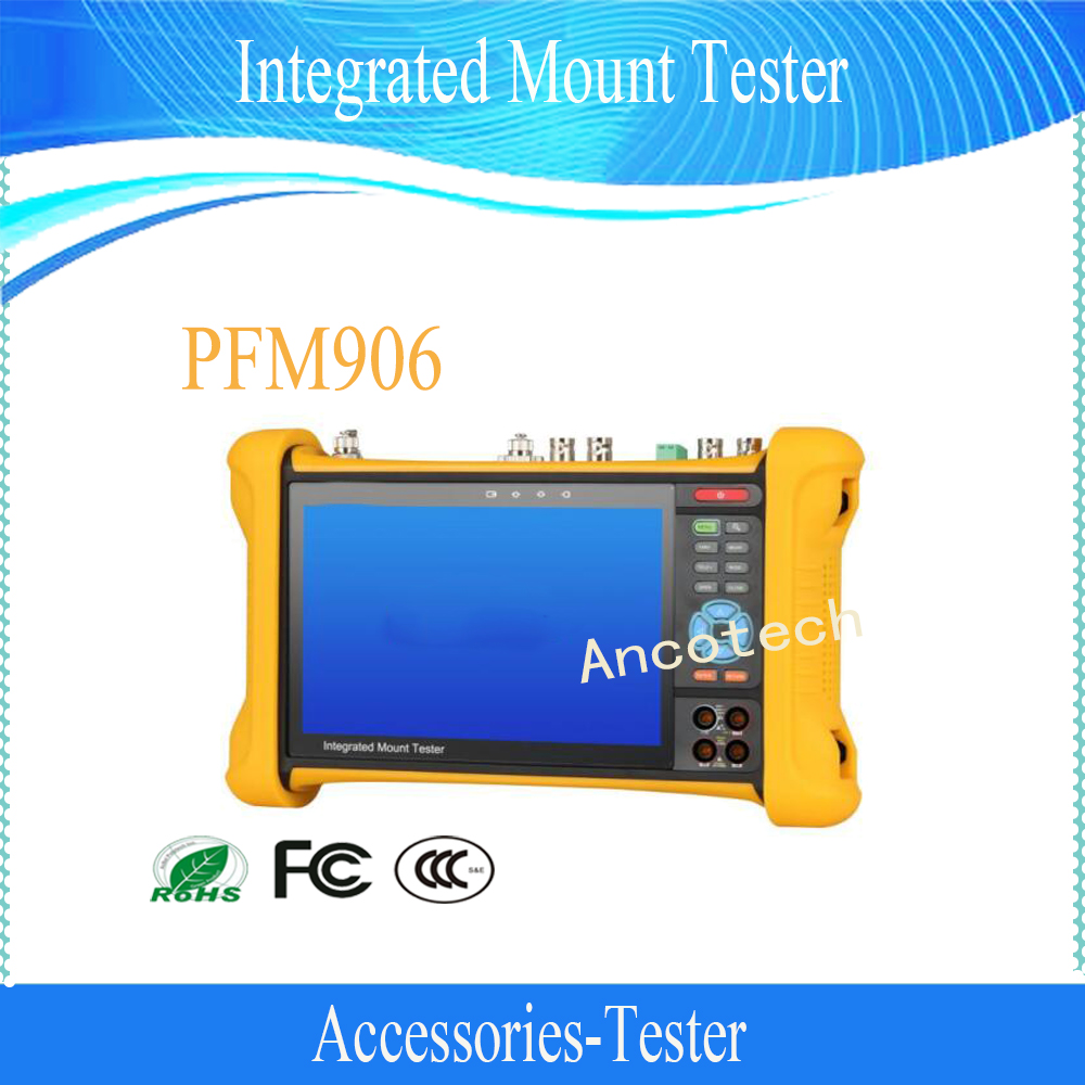 Free Shipping DAHUA 7 IPS Touch Screen Integrated Mount Tester Without Logo  PFM906