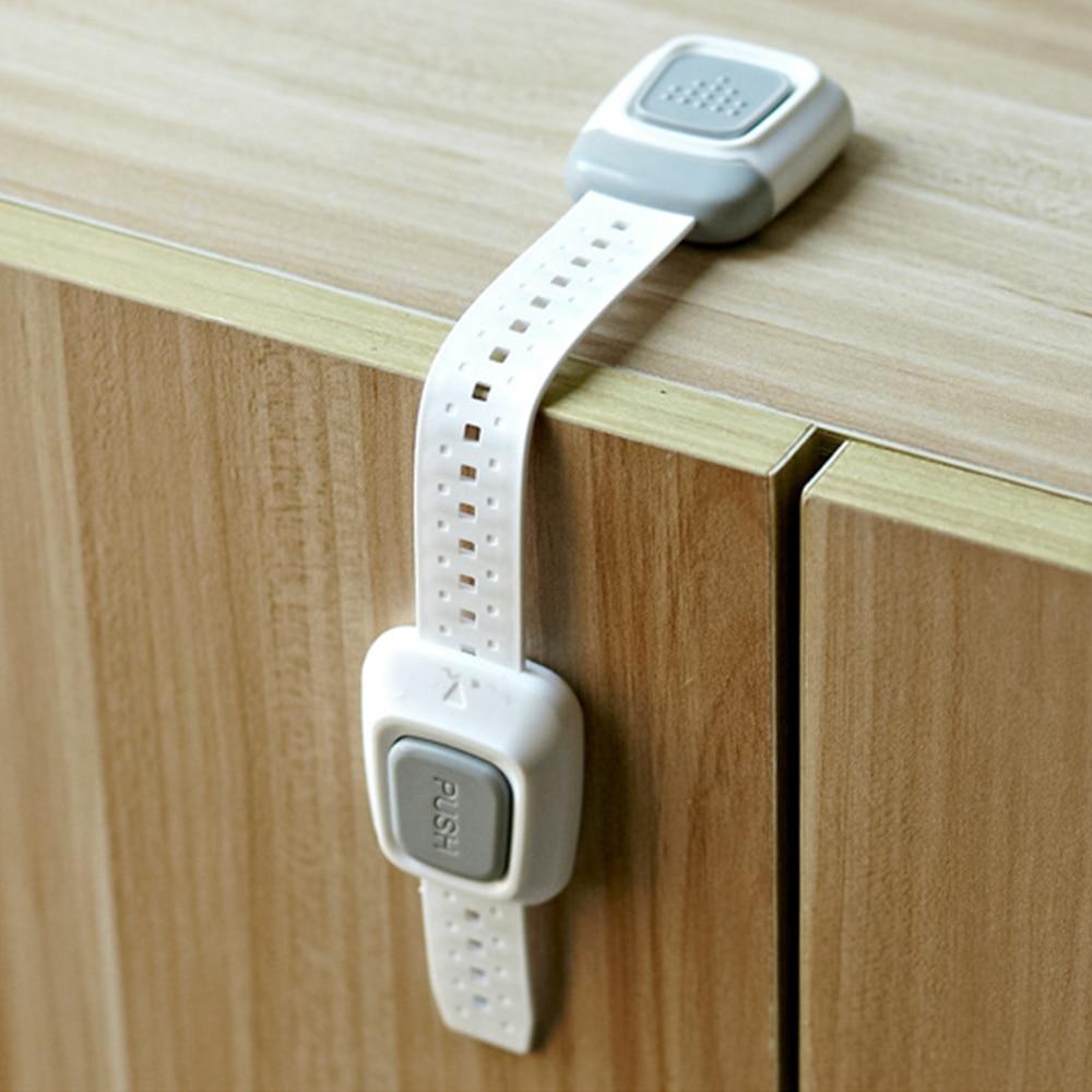 1pc baby safety lock drawer cabinet cupboard safty locks. Black Bedroom Furniture Sets. Home Design Ideas