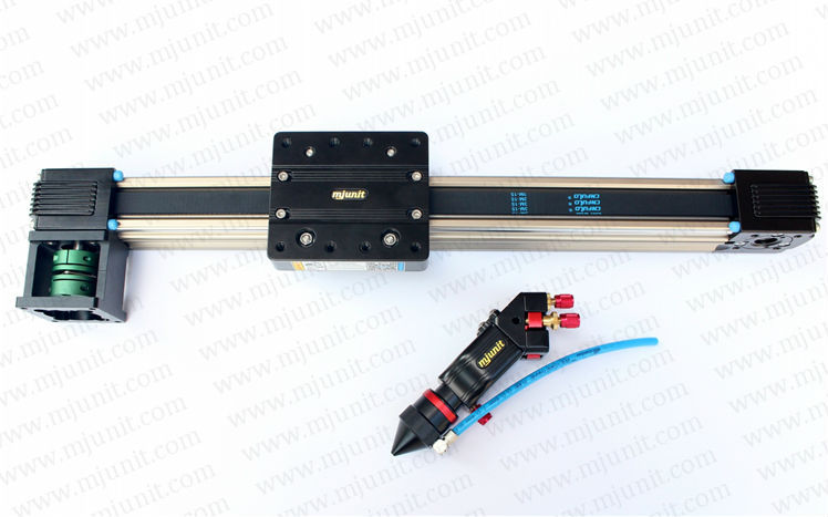 Belt driven linear slide long travel distance guideway linear actuator linear shaft support rail nema 23 xyz stage manual actuator medical motor electric guideway toothed belt driven