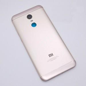 Image 4 - 新 Xiaomi Redmi 5 プラス (MEE7) スペアパーツバック住宅 + サイドボタン + カメラフラッシュレンズ交換