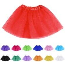 CALOFE/Одежда для маленьких девочек розовая юбка-пачка детская юбка принцессы для девочек бальное платье, праздничные юбки для дня рождения милые юбки для девочек